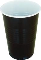 Plastový kelímek 0,2 l - na kávu, hnědo-bílý, 100 ks