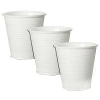 Plastový kelímek 0,2 l - PP, bílý, 100 ks