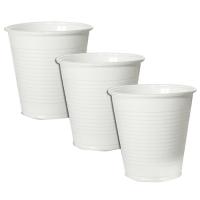 Plastový kelímek 0,5 l - PP, bílý, 50 ks