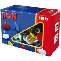 Barevné připínáčky RON 224 - 8 mm, 100 ks