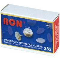 Kovové připínáčky RON 232 -  technické, 10 mm, 50 ks
