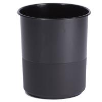 koš na papír plný černý