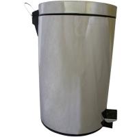 Pedálový odpadkový koš 20 l - nerezový