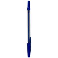 Jednorázové kuličkové pero - 1 mm, modré