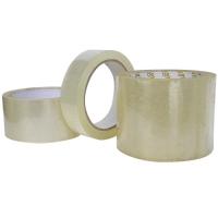 Lepící páska PVC - akrylát, 9x66 m, transparentní