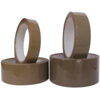 Lepící páska - akrylát, 25x66 m, havana, hnědá - DOPRODEJ
