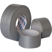 Lepící páska Duct-Tape - zpevňovací, 50x10 m, stříbrná