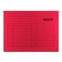 Závěsná papírová deska Donau - A4, 230 g, červená