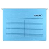Závěsná papírová deska Donau - A4, 230 g, modrá