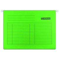 Závěsná papírová deska Donau - A4, 230 g, zelená