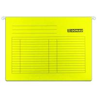 Závěsná papírová deska Donau - A4, 230 g, žlutá