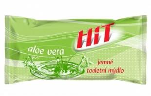 Jemné toaletní mýdlo Hit - aloe vera, 100 g