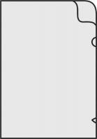 Zakládací obal L - A4, lesklý, 180 my, transparentní, 10 ks