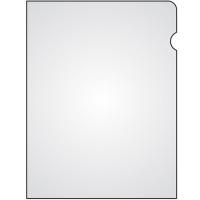 Zakládací obal L - A5, lesklý, 150 my, transparentní, 100 ks