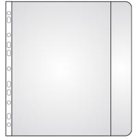 Prospektový obal s boční klopou - A4, matný, 110 my, transparentní, 10 ks