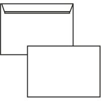 Poštovní obálka C5 - bez okénka, krycí páska, 162x229 mm, bílá, 1000 ks