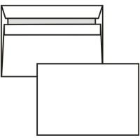 Poštovní obálka C6 - bez okénka, samolepící, 114x162 mm, bílá, 1000 ks