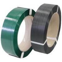 Vázací páska PET - 12x0,5 mm, 3000 m, černá