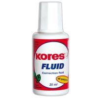 Opravný lak Kores Fluid - štěteček, 20 ml