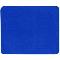 Podložka pod myš Logo - textilní, 24x22x0,3 cm, modrá