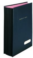 Podpisová kniha Hanibal - A4, černá