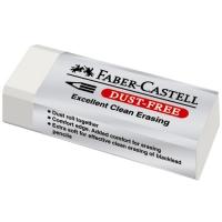Pryž Faber Castell - velká, bezprašná, bílá