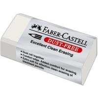 Pryž Faber Castell - malá, bezprašná, bílá