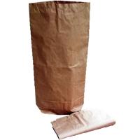 Papírový pytel - 65x120 cm, dvouvrstvý, hnědý