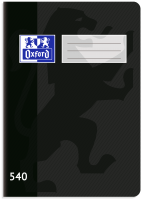 Školní sešit 540 Oxford - A5, čistý, 40 listů, černý