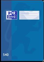 Školní sešit 540 Oxford - A5, čistý, 40 listů, modrý