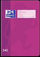 Školní sešit 540 Oxford - A5, čistý, 40 listů, fialový