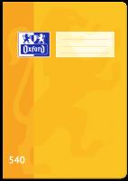 Školní sešit 540 Oxford - A5, čistý, 40 listů, žlutý