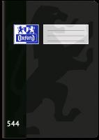 Školní sešit 544 Oxford - A5, linkovaný, 40 listů, černý