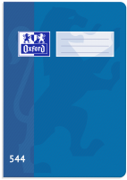Školní sešit 544 Oxford - A5, linkovaný, 40 listů, modrý