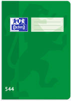 Školní sešit 544 Oxford - A5, linkovaný, 40 listů, zelený