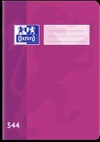 Školní sešit 544 Oxford - A5, linkovaný, 40 listů, fialový