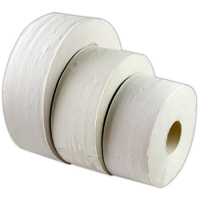 Toaletní papír Jumbo 240 - dvouvrstvý, bělený recykl, 6 rolí