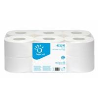 Toaletní papír Papernet Jumbo 190 402297 - dvouvrstvý, 100% celulóza, 140 m, 459 útržků, 12 rolí