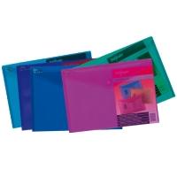 Spisové desky s drukem A4 Elektra - plastové, mix barev