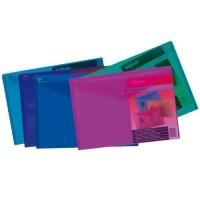 Spisové desky s drukem A5 Elektra - plastové, mix barev