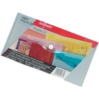 Spisové desky s drukem DL - plastové, transparentní, mix barev