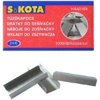 Drátky do sešívačky 24/6 - 1000 ks