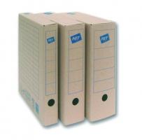 Archivační krabice na pořadač Board Natur 75 - 330x260x75 mm, hnědá