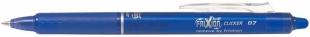 Přepisovatelný roller Pilot Frixion Clicker 07 - 0,7 mm, plastový, modrý
