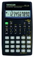 Školní kalkulačka Sencor SEC 180 - přirozené zobrazení, 56 funkcí, černá