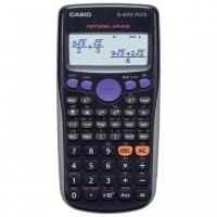Školní kalkulačka Casio FX 82ES Plus - přirozené zobrazení, 252 funkcí, černá
