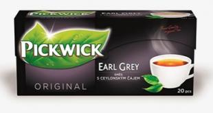 Černý čaj Pickwick - Earl Grey, 20 sáčků