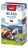 Trvanlivé mléko Tatra - polotučné 1,5 %, 1 l