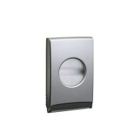 Zásobník na mikrotenové hygienické sáčky Premium - plastový, ABS, metallic