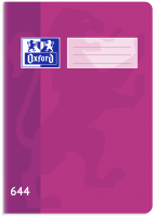 Školní sešit 644 Oxford - A6, linkovaný, 40 listů, fialový